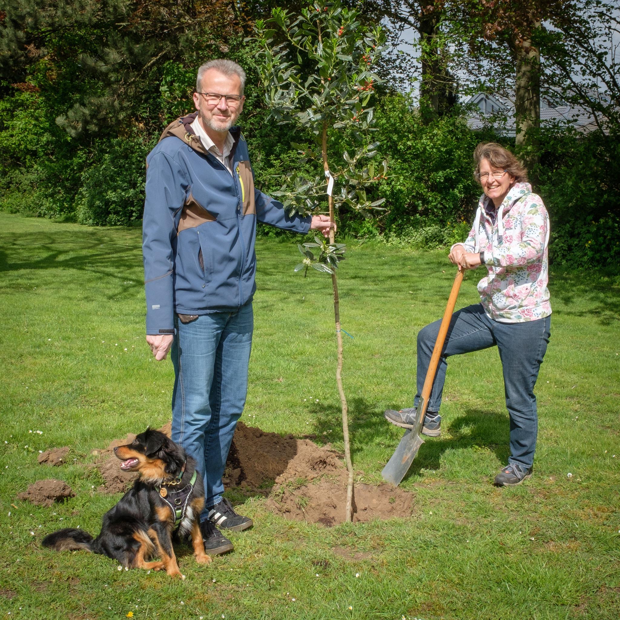 Baum des Jahres 2021 gepflanzt